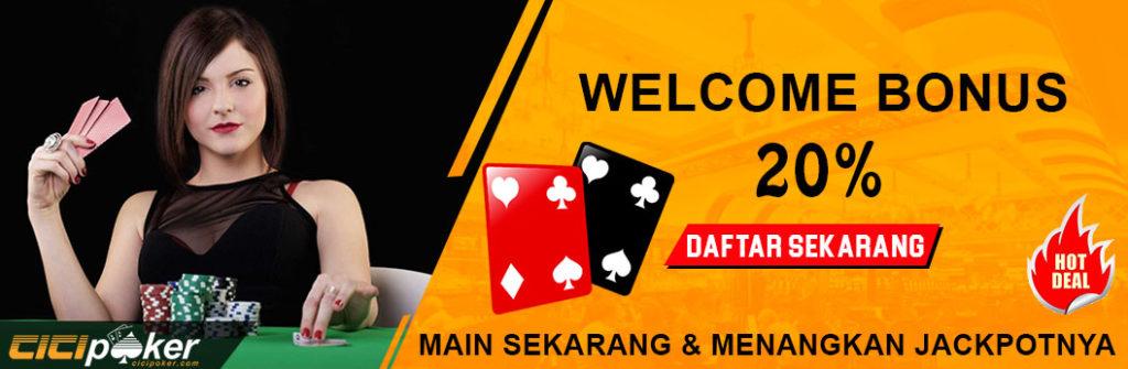 bonus welcome poker online